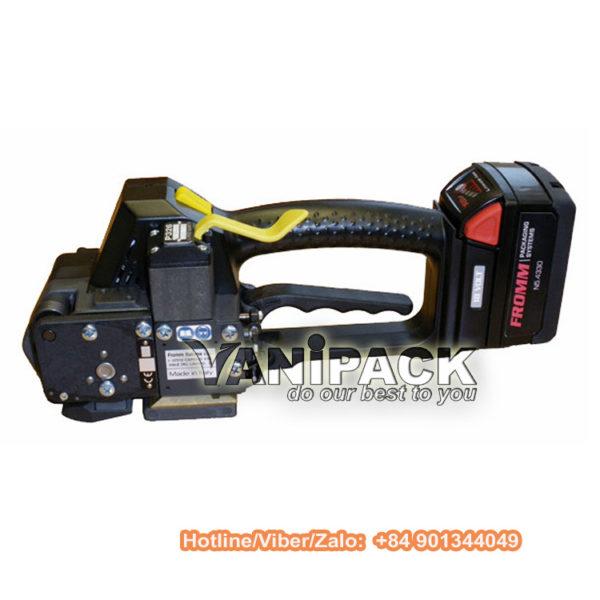 Máy đai nhựa dùng pin Fromm P326 Hotline/Viber/Zalo: +84 901344049