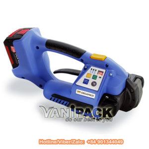 Máy đai nhựa dùng pin Orgapack ORT-400 Hotline/Viber/Zalo: +84 901344049