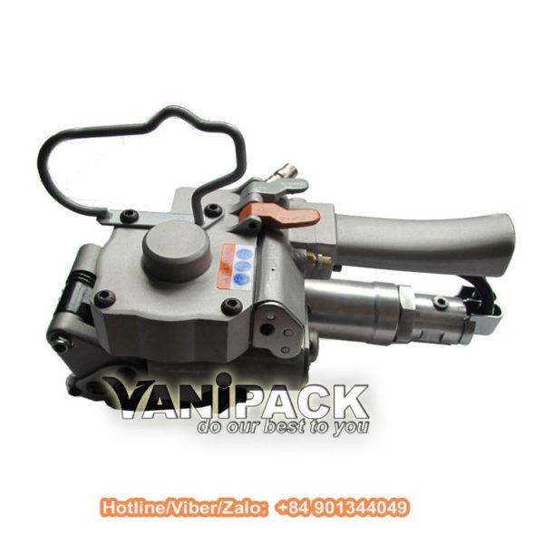 Máy đóng đai nhựa dùng hơi XQD-19 Hotline/Viber/Zalo: +84 901344049