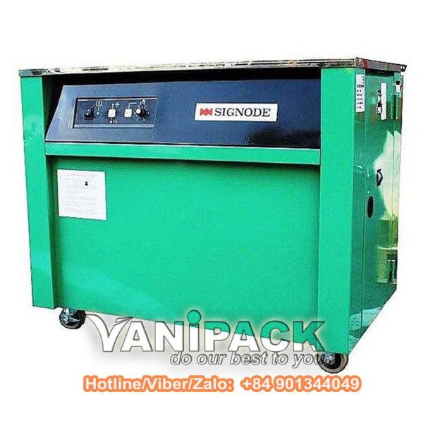 Máy đóng đai thùng bán tự động SIgnode MST Hotline/Viber/Zalo: +84 901344049